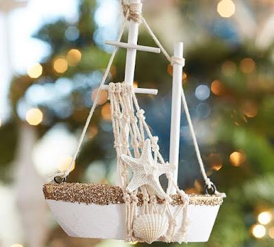Nautical Ornament: Pottery Barn 2015
