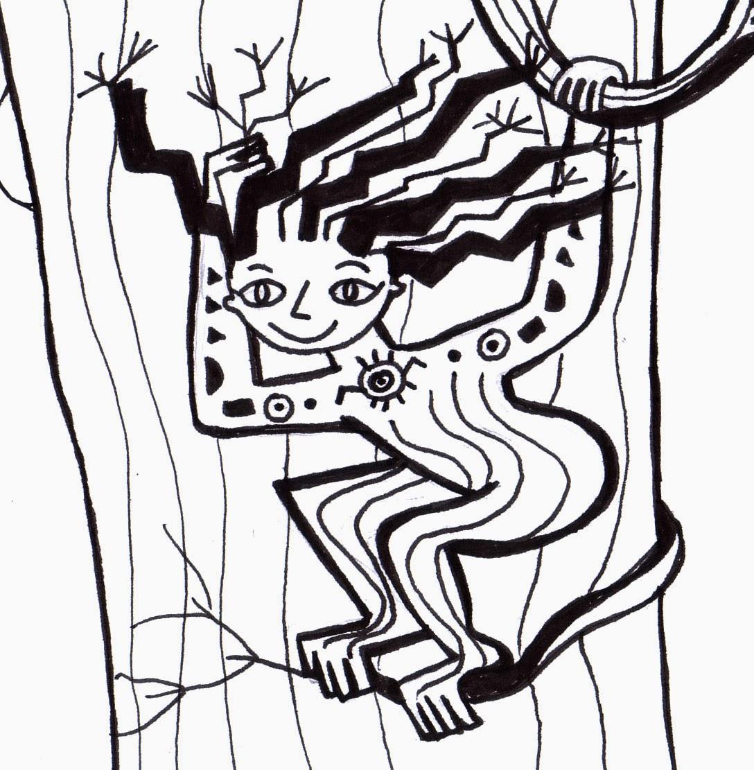 La niña árbol