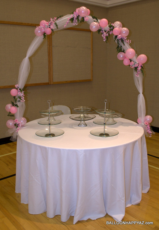 Fondant Cake Ball Design : Balloon Happy AZ: WEDDING IN PINK AND WHITE