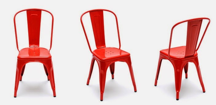 Xavier Pauchard Also Designed An Accompanying Chair With A Wider Back Called The Ac Chair Now Called The Marais A Chair