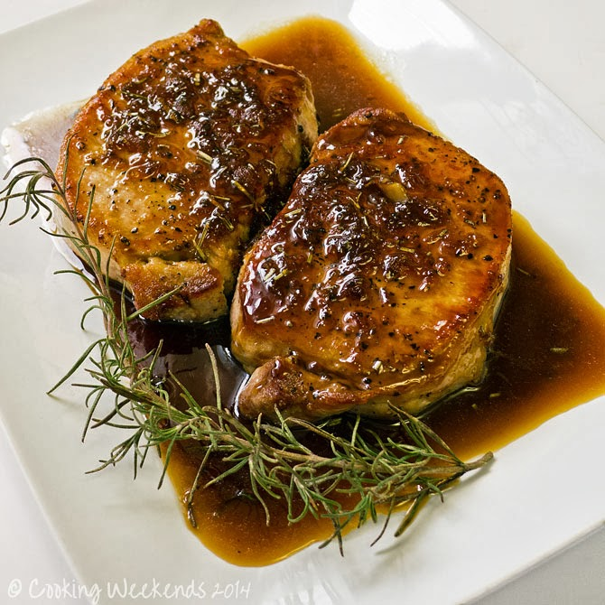 how to cook thick pork loin chops on stove