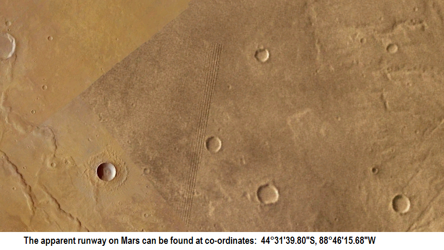 Space Station Like Structure and Runway Found On Mars