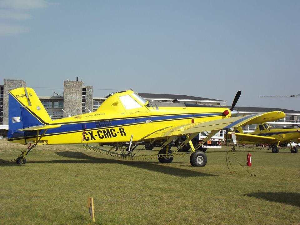 CX-CMC-R AIR TRACTOR AT-502-B - Charles Ckalking - Paysandú
