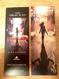 elsie chapman dualed bookmarks giveaway