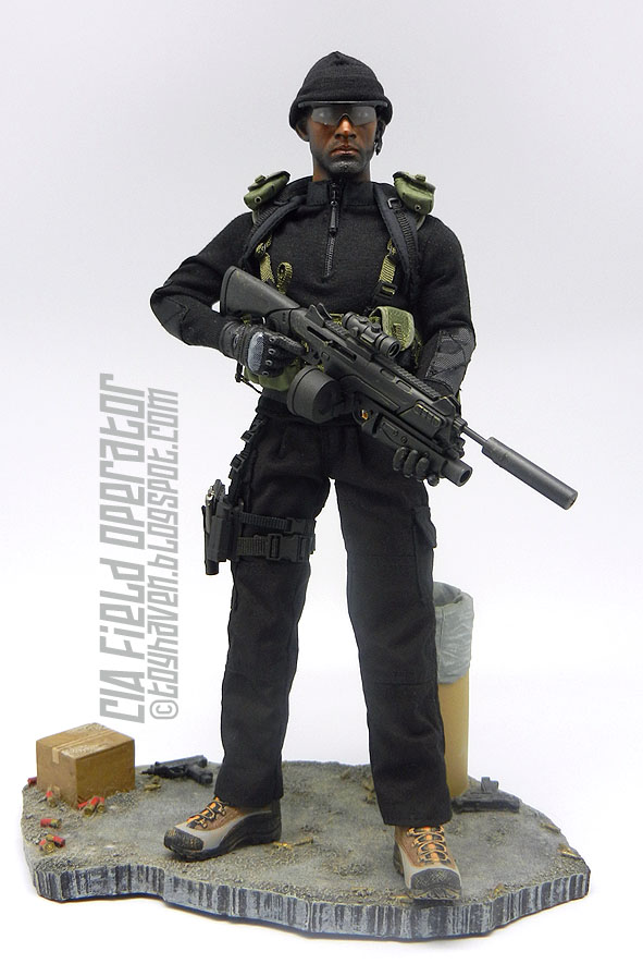 CIA Central Intelligence Unit Grenade Set Very Hot Toys 1//6th Scale