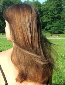 Włosy w czerwcu.
