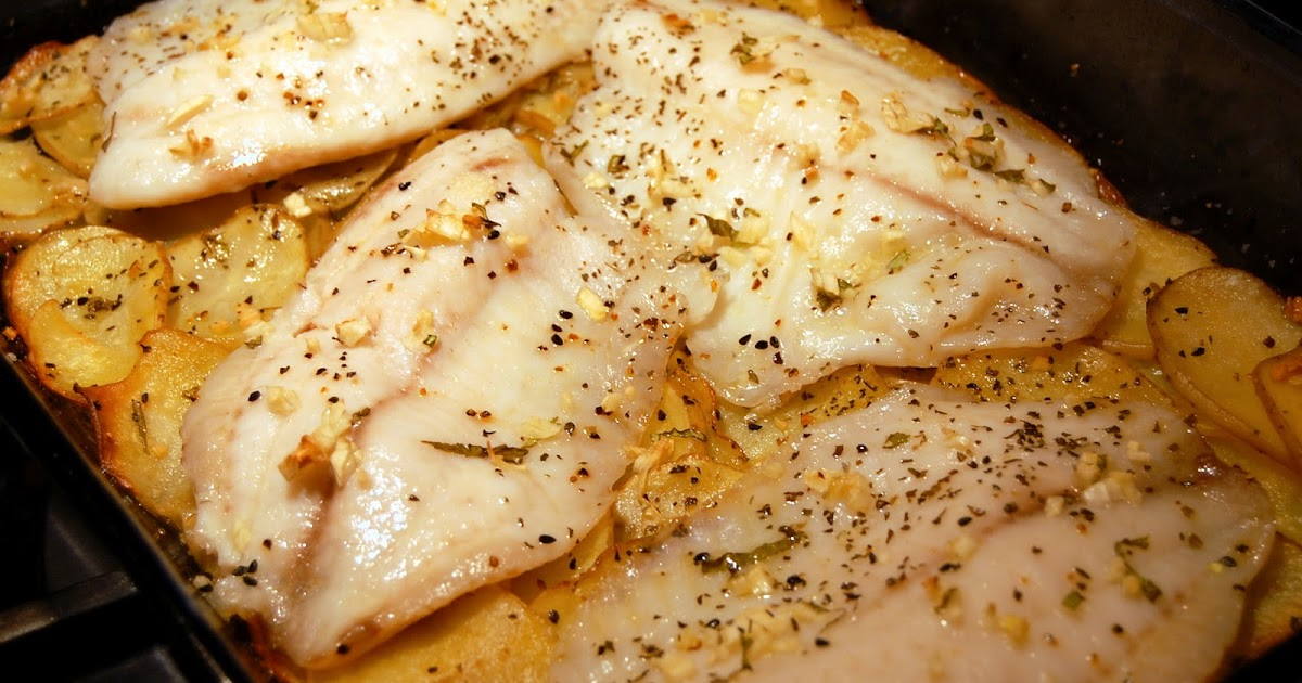 kind of love affair: recipes: oven-roasted tilapia with potatoes