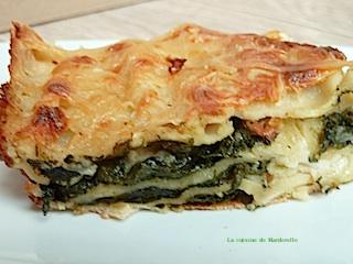 recette lasagnes au épinards sauce mornay facile
