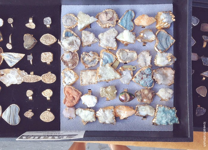 rare gem druzy and crystal finds