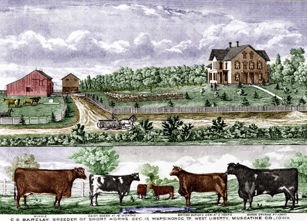 19th Century Iowa Farm
