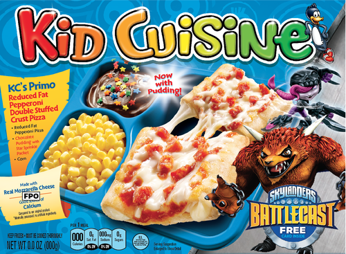 Skylanders kid cuisine meals hit store shelves biogamer girl for Are kid cuisine meals healthy