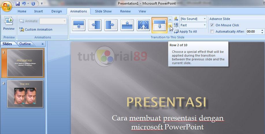 Cara membuat presentasi di Microsoft PowerPoint