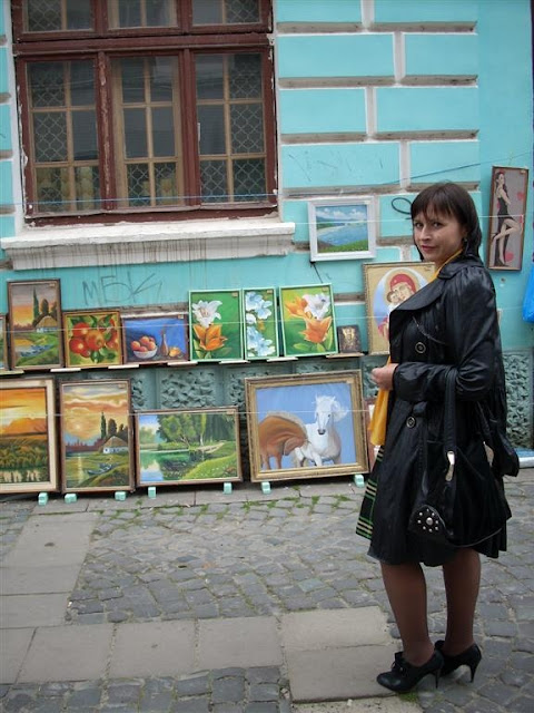 Art and Craft Market, Ternopil, Ukraine