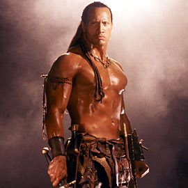 Dwayne Johnson Scorpion King