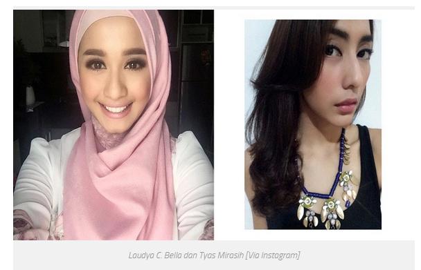 4 Artis Cantik Indonesia yang Pernah Punya Pacar Yang Sama