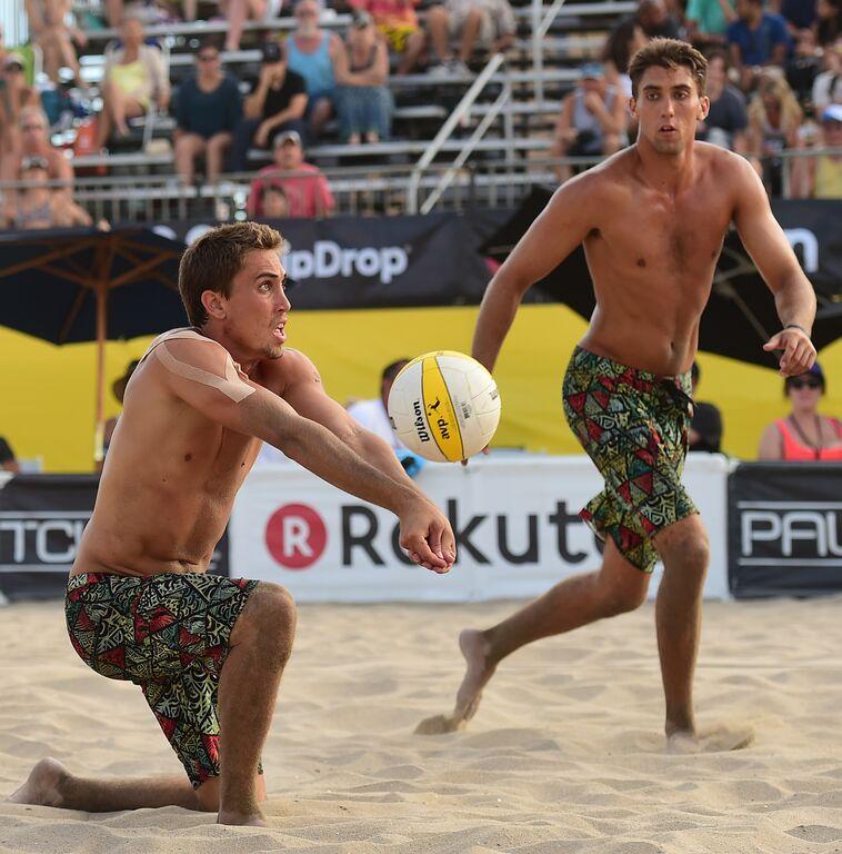beach volley news kingston avp championships huntington