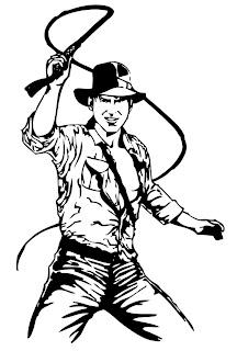 Desenhos Para Colorir As Aventuras de Indiana Jones