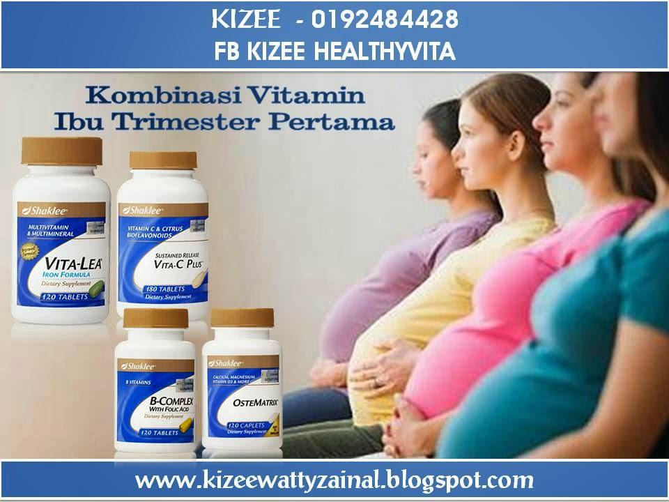 Vitamin untuk Ibu Trimester Pertama
