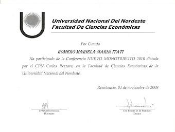 Actualización Monotributo 2010