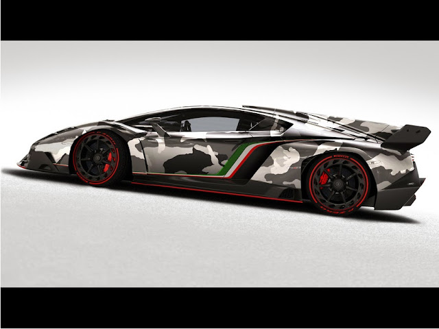 Lamborghini Veneno Camouflage Teamspeed Com