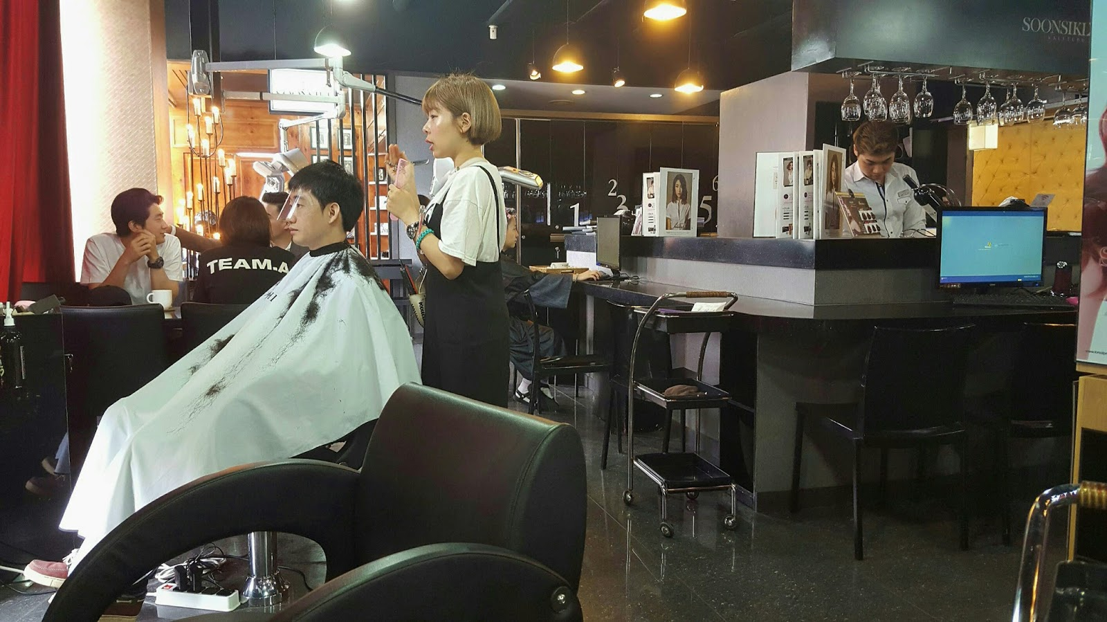 Soonsiki hair a cut above the rest koreabridge for A cut above beauty salon
