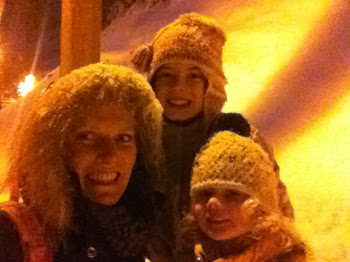 My girls and me in the snow