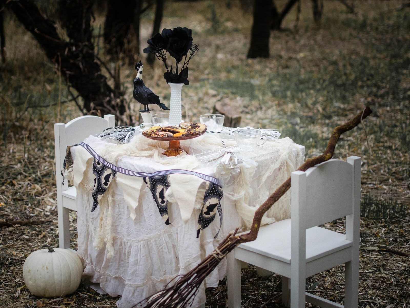 What necessary Witches tea party