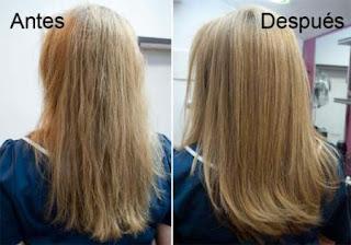 Del aceite de bardana los cabellos crecen