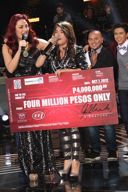 KZ Tandingan emotionally accepted her P4 million prize