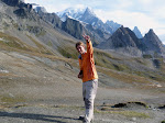 Bajo el MontBlanc en Col la Seigne (2.515m)