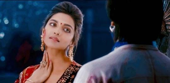 Deepika Padukone in ram leela movie