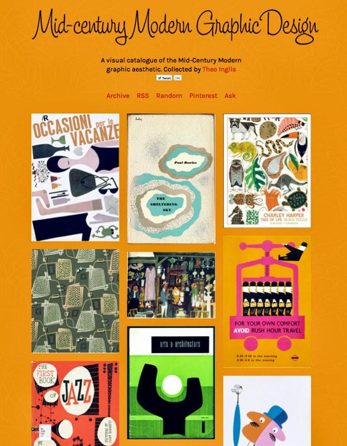 Mid-century Modern Graphic Design