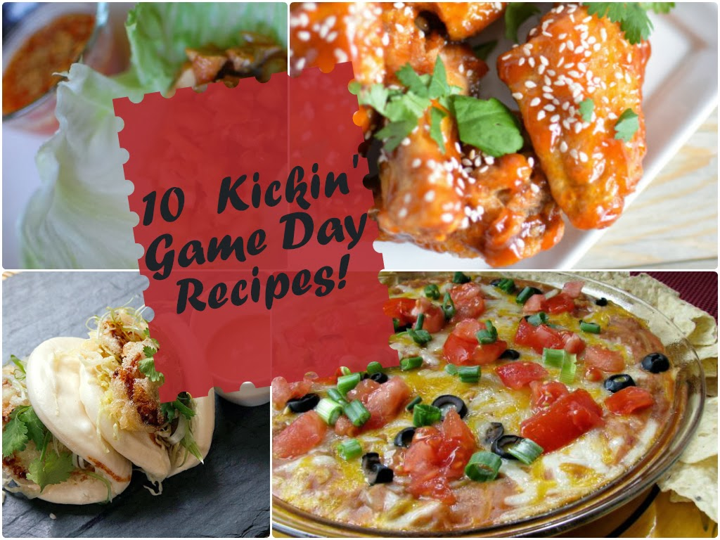 10 Kickin' Game Day Recipes! 10 Awesome recipes that are sure to be a hit at your superbowl party this year! Some of the recipes have been my Superbowl go-to's for many years!