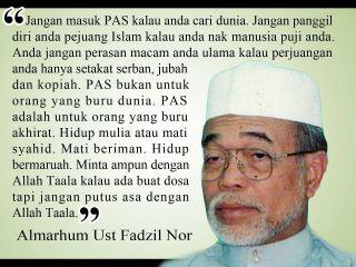 AMANAT AL-MARHUM TG DATO&#39; FADHIL NOOR