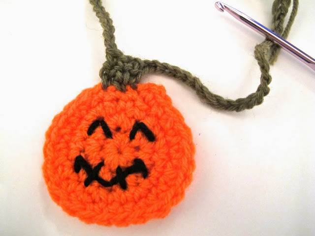 halloween pumpkins crochet instructions