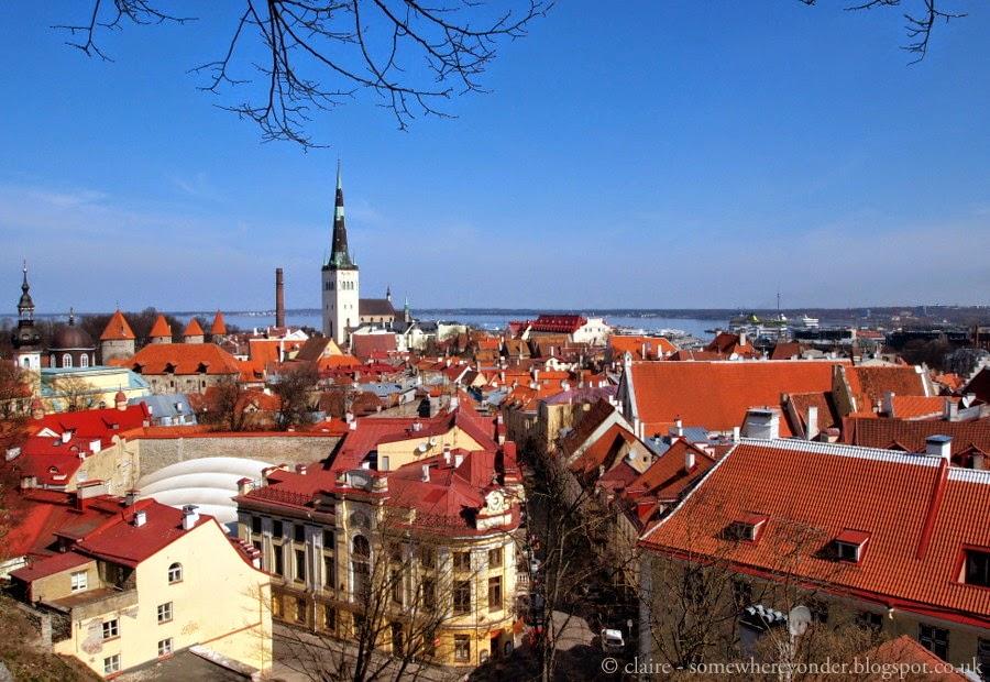 view of Tallinn from Kohtuotsa Viewing Platform