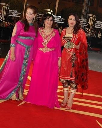 caftan Marrakech Festival . kaftan marocain 2013