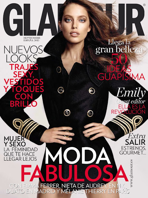 Emily DiDonato by Yu Tsai for Glamour Spain, September 2015