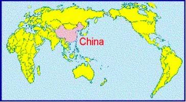Mapa mundi China