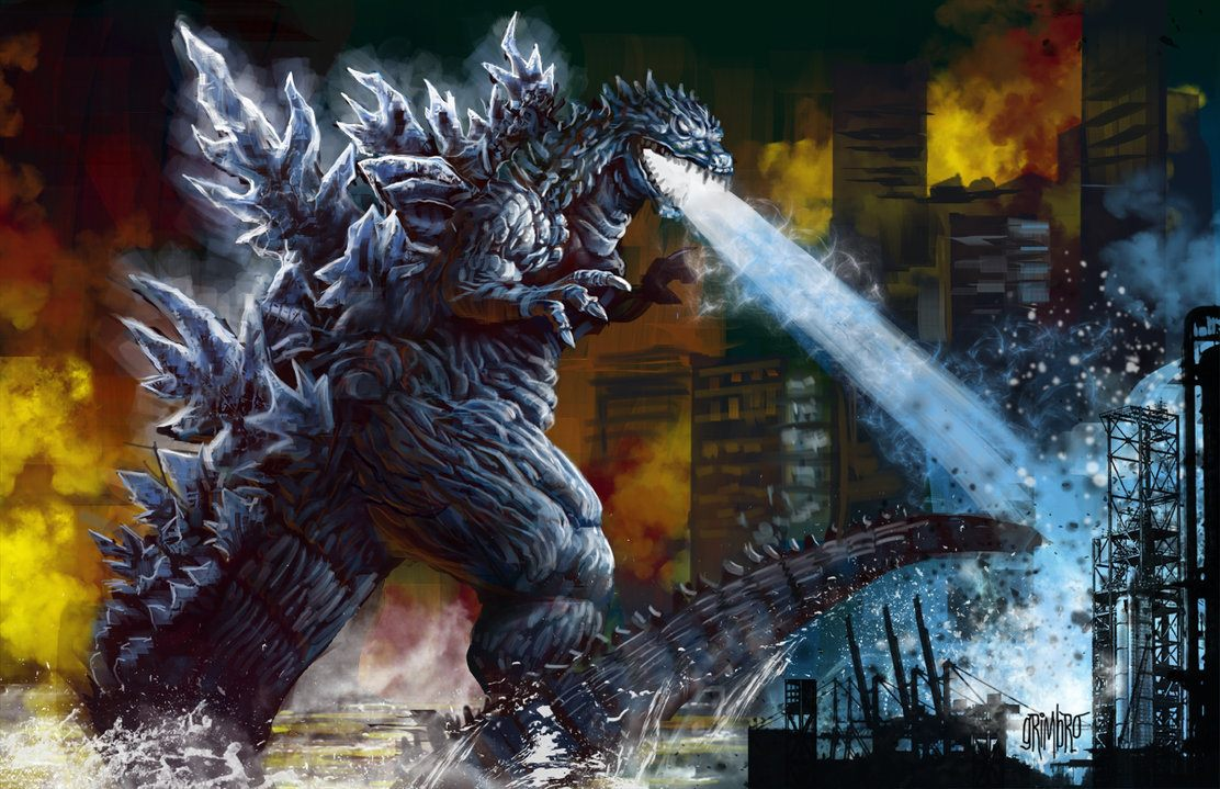 Email This BlogThis  Share to Twitter Share to Facebook Share to    Pacific Rim Vs Godzilla