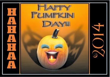 happy pumpkin day greeting