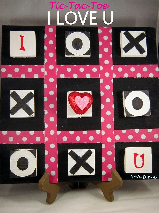 Tic-Tac-Toe Love Board