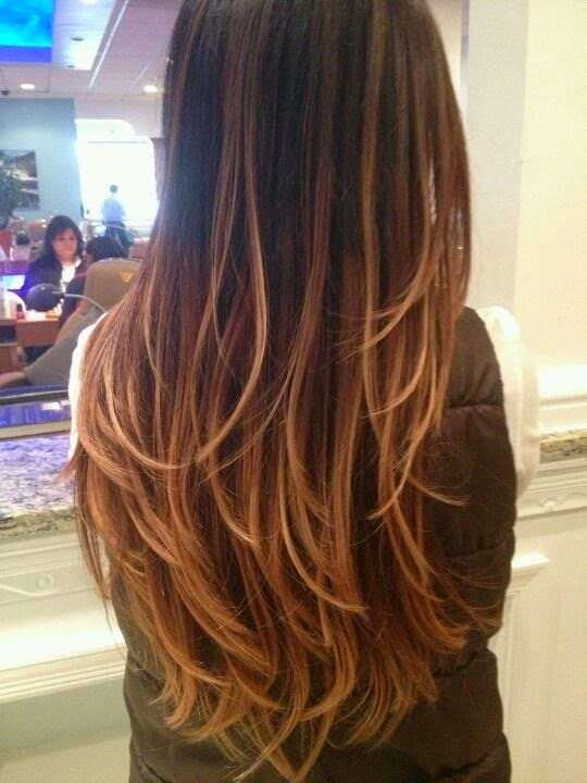 Here are a few Pinterest examples of honey coloured balayage for other style options.
