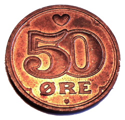 For my 50 Øre