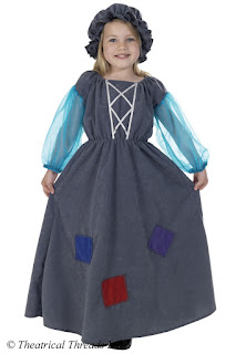 Cinderella Rags Dress Kids Costume from Theatrical Threads Ltd