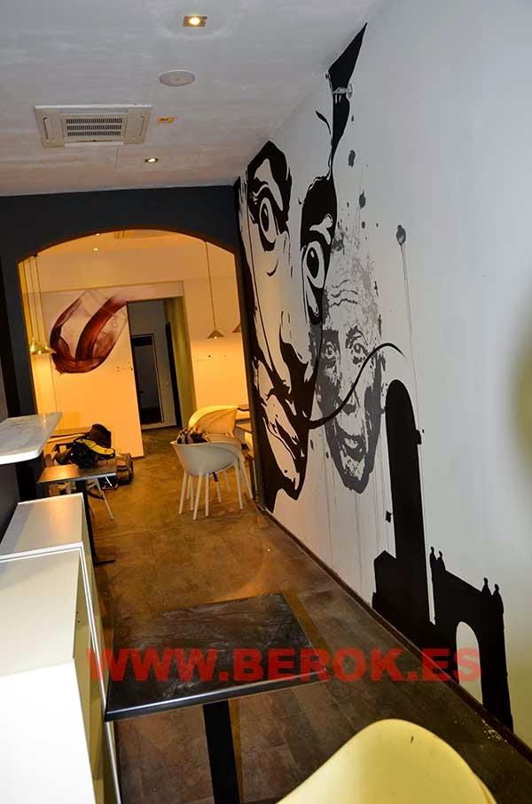 Graffitis Salvador Dalí