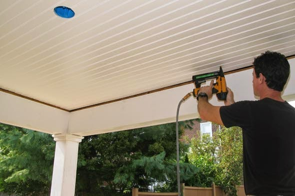 beadboard ceiling material - Outdoor Patio Ceiling Ideas