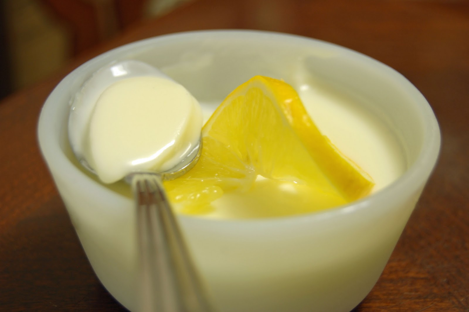 Peaceful Dwelling: Meyer Lemon Posset
