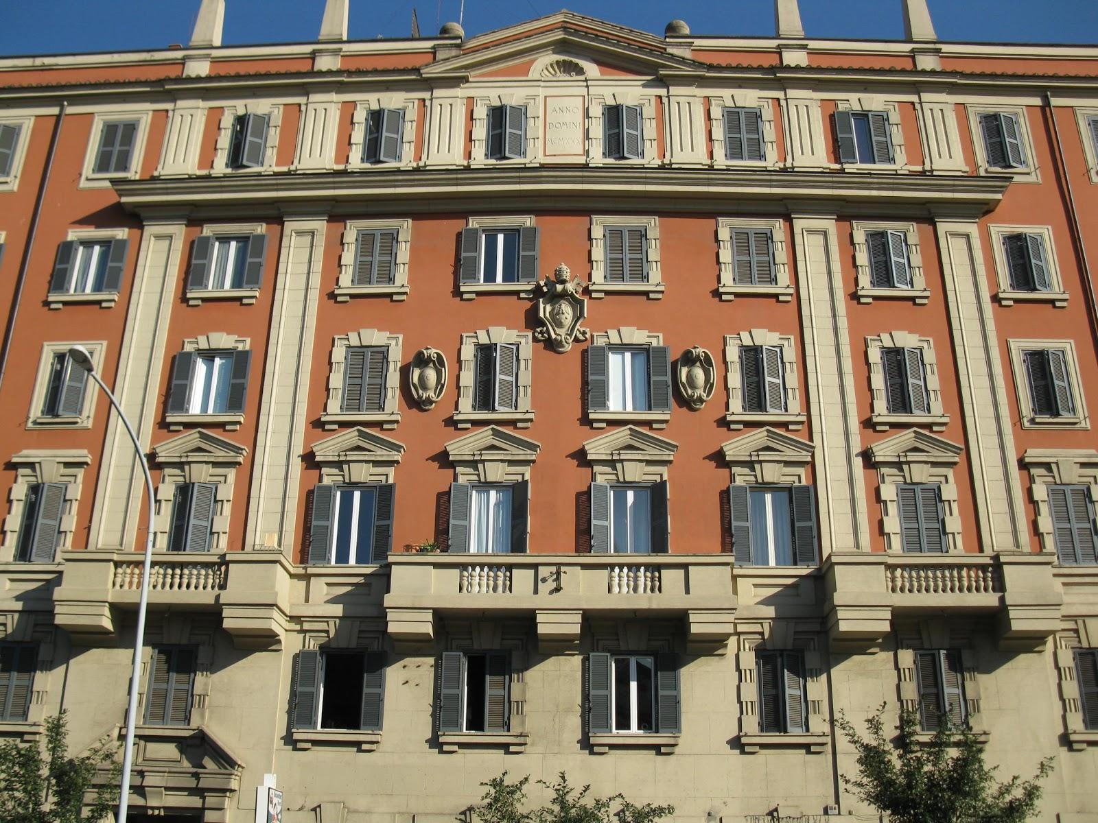 Orbis catholicus secundus 1930s architecture in rome for Architecture 1930