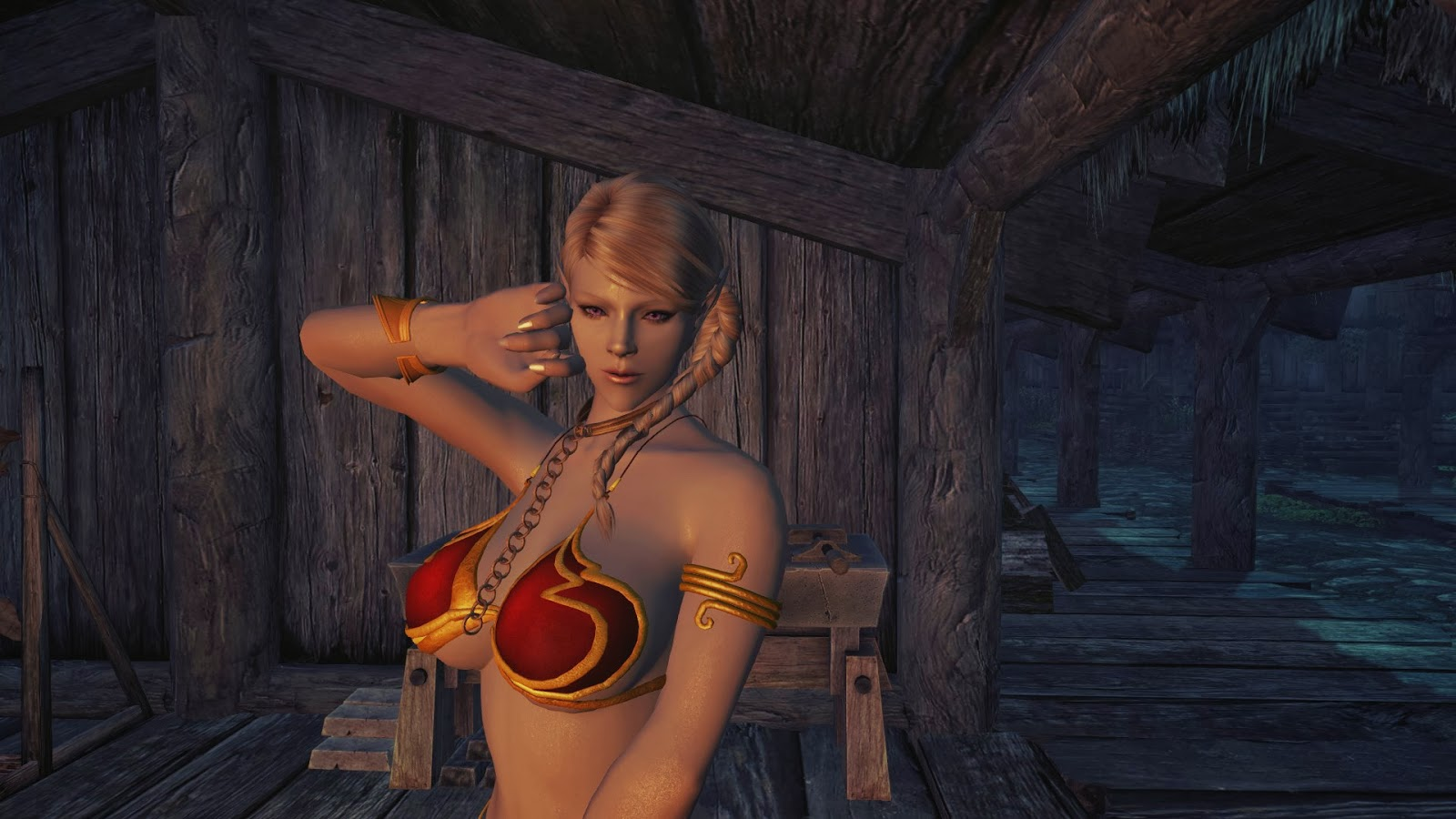 Skyrim nude mod small smut clips